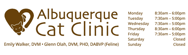 Logo for Veterinarians Albuquerque | Albuquerque Cat Clinic
