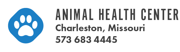 Logo for Animal Health Center Charleston, Missouri