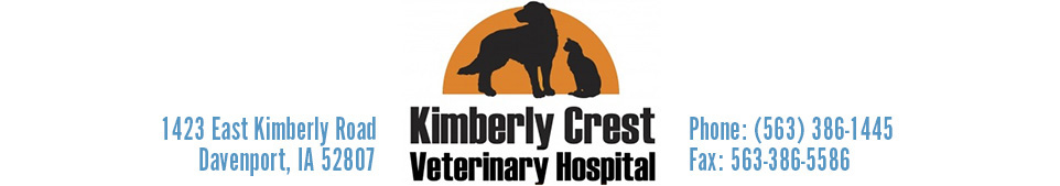 Logo for Veterinarians in Davenport | Kimberly Crest Veterinary Hospital