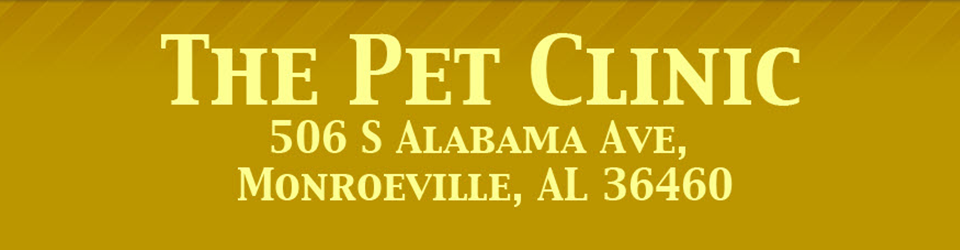 Logo for Veterinarians in Monroeville | The Pet Clinic