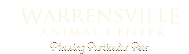 Logo for Warrensville Animal Center Cleveland, Ohio