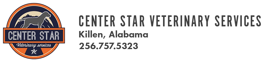 Logo for Center Star Veterinary Clinic Killen, Alabama