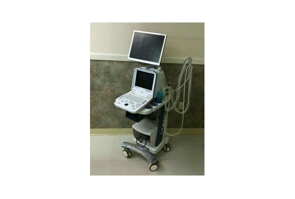 Ultrasonography: In hospital ultrasound machine when advanced imaging is needed.