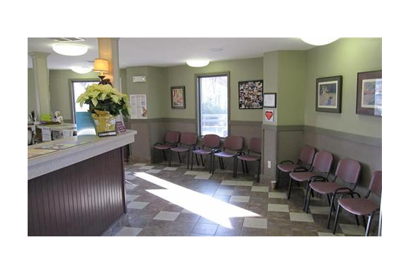 Reception & Client Waiting Room