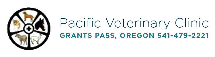 Logo for Pacific Veterinary Clinic Grants Pass, Oregon
